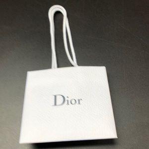Dior gift bag